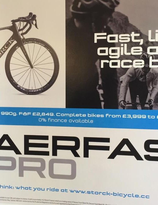 Aerfast Pro is Storck's women's specific aero race bike