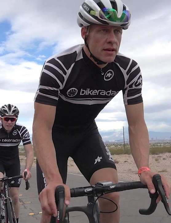Two BikeRadar editors rode the eTap group in Nevada, and two tested it in Germany