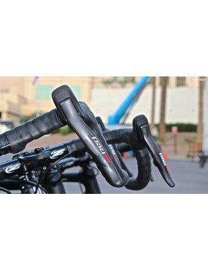 The Red eTap shifters weigh 260g for the pair