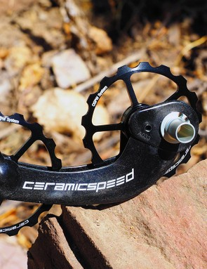 CeramicSpeed says its Oversized Pulley Wheel System will save roughly 3W of effort as compared to a standard Shimano Dura-Ace derailleur
