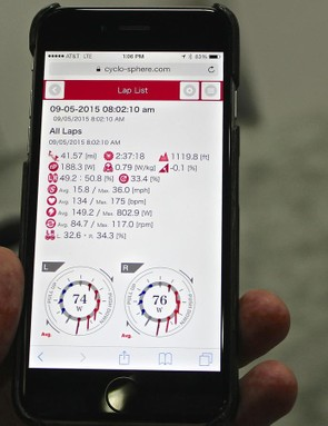 A new app shows ride stats, including some metrics unique to Pioneer