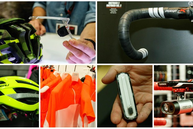 We strolled the halls of Interbike in the search of the latest gear to keep us safe on the roads
