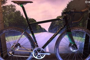Vaaru go big on titanium at this year's Cycle Show, and this here V:8 is our pick
