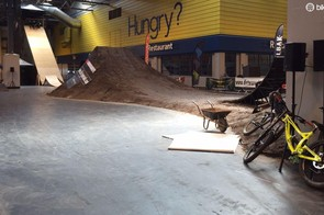 Some jumps in need of riders