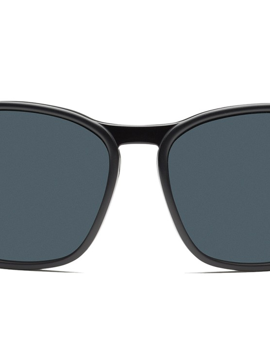 They're more curved than standard fashion shades but don't wrap around like true 'performance' glasses do