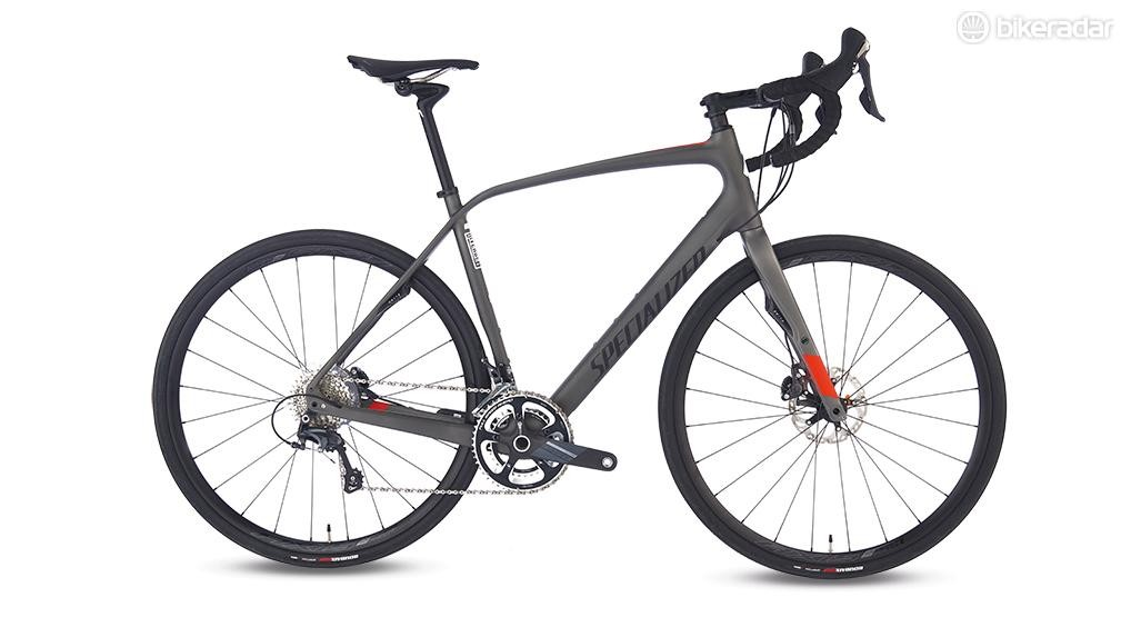 Specialized's Diverge Carbon Expert has geometry that'll be familiar to anyone who's sat astride a Roubaix