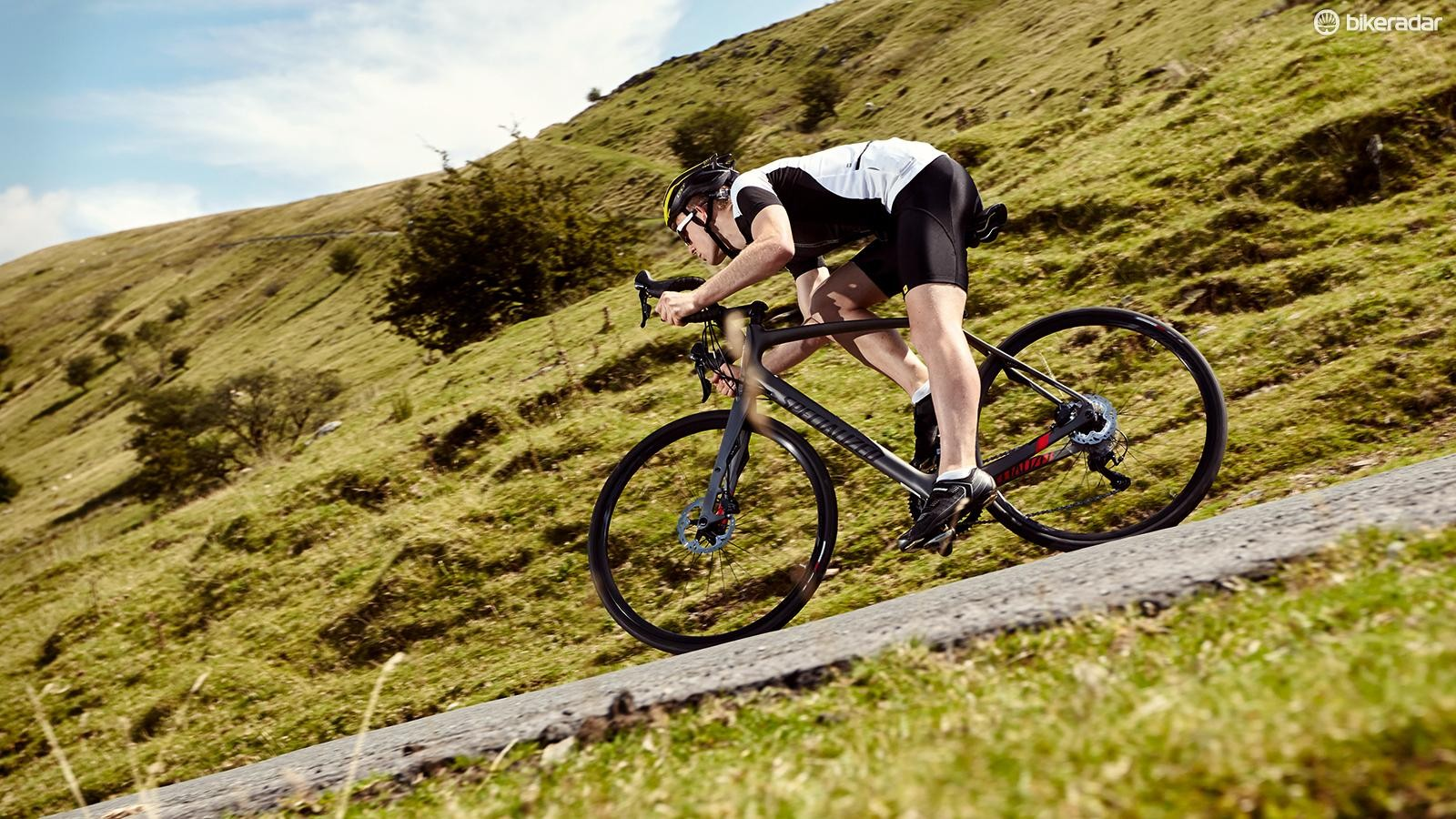 Super-compact cranksets could become more common for road riders too