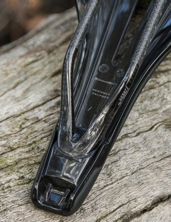 The saddle rails are made as a single piece; they're extremely strong and well suited to off-road use