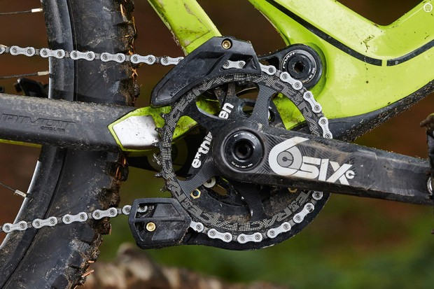 Race Face SIXC Cinch crankset is seriously impressive if your pockets are deep