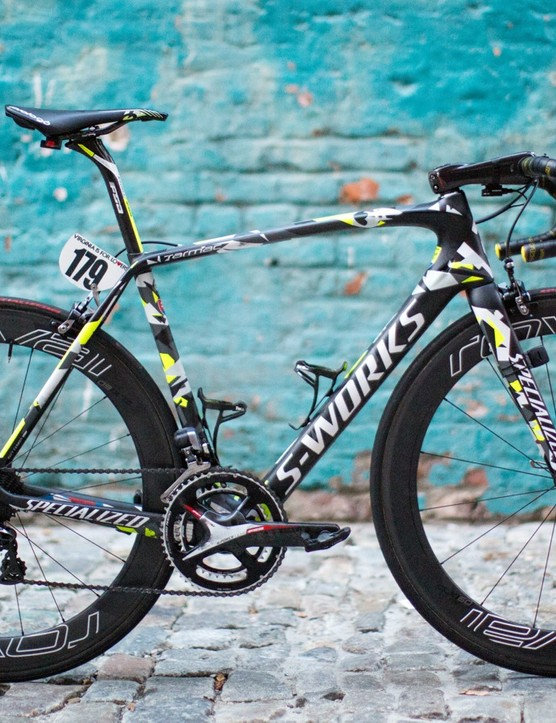The bike that won the 2015 UCI road world championships: Peter Sagan's Specialized S-Works Tarmac