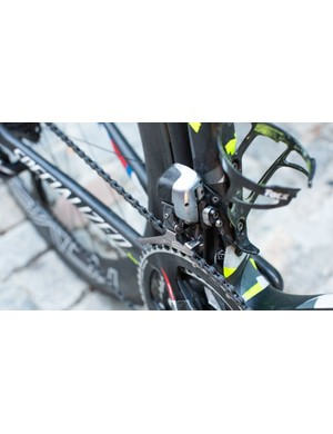Dura-Ace Di2 shifts so well the K-Edge chain catcher may be redundant, but it's likely good for peace of mind