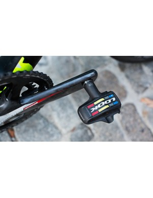Look KeO Blades can handle whatever wattage Sagan cranks out