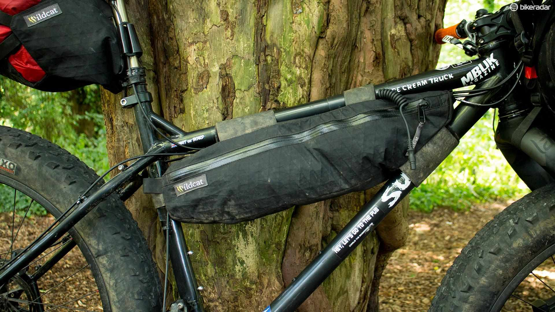 Wildcat's Gear Ocelot frame bag is a versatile solution that'll suit both bikepackers and commuters