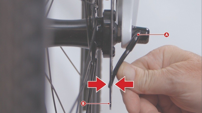 Bikes from the 17 brands that have quick releases which open wide enough to get within 6mm of the rotor are included in the recall