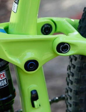 The Top Fuel features the Mino link, allowing for a little geometry choice