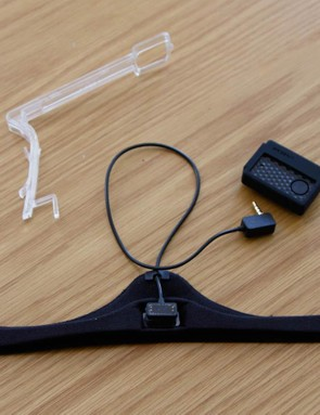The Lazer LifeBEAM 2.0 DIY kit with Z1 mud-cover clip (the translucent item)