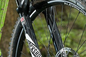 The Pike RCT3 is one of our favourite forks, keeping the front end under control