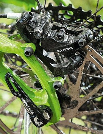 Guide R brakes might not be top of the tree, but they're capable stoppers