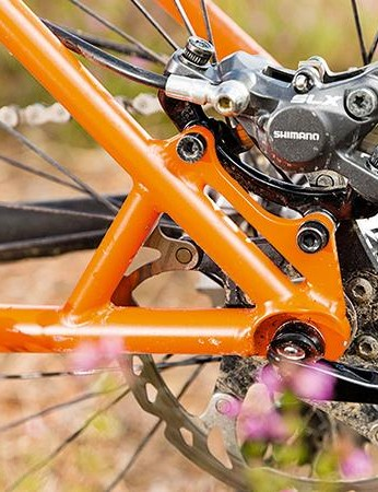 Shimano stoppers performed faultlessly