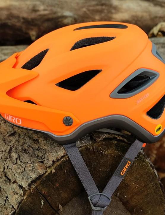 Giro's new trail helmet, the Montaro MIPS