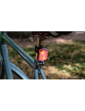 Two lights in one: the Blackburn 2'Fer is a rear light...
