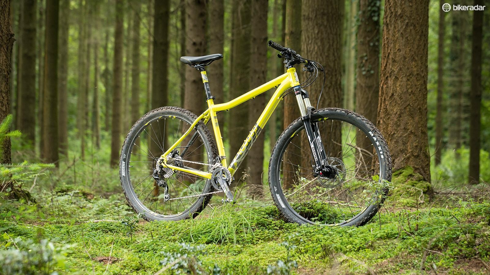 The Voodoo Bizango knocked spots off its peers in our recent mega-test of budget mountain bikes