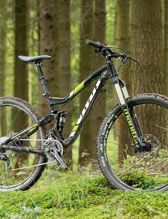 The Vitus Escarpe 290 VR is an awful lot of trail bike for the money