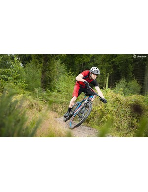 The Freed 7.1 is very much a steep-geo speed machine but its reasonably wide bars and short stem take the edge off a little
