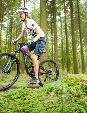 The Recon Maxle fork and Monarch rear shock make a winning suspension combo