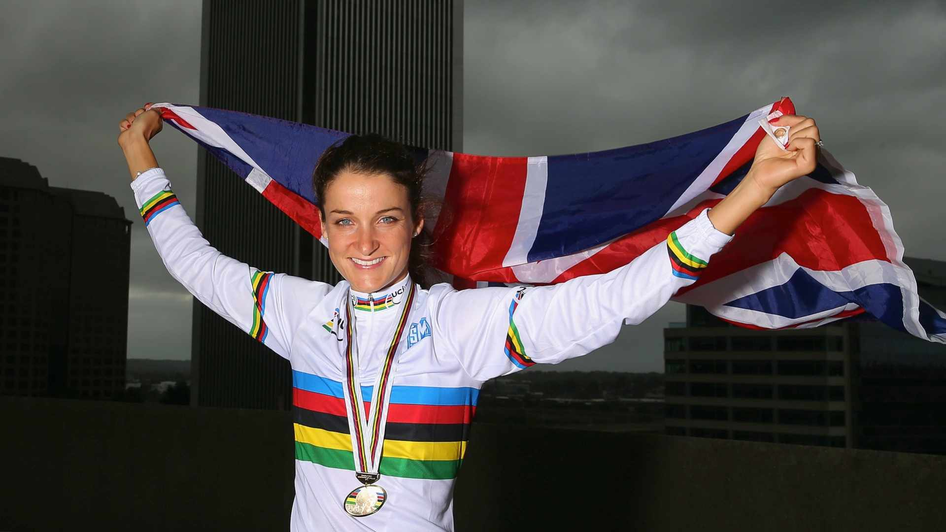 Lizzie Armitstead flew the flag in Richmond, Virginia in the best possible way