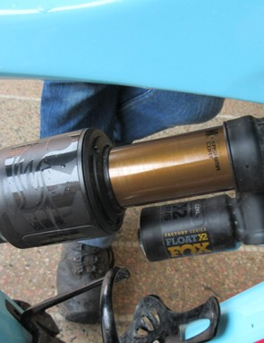 A Fox Float X2 shock is a performance boosting upgrade for a broken Cane Creek shock