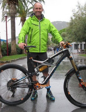 Woody Hole is not a professional racer; he's Hope's warehouse manager. Yet his bespoke Enduro has carried him to the masters' overall title