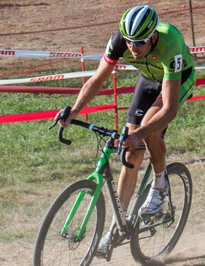 Cannondale-Cyclocrossworld.com racer Ryan Trebon sees the potential in using a dropper seatpost