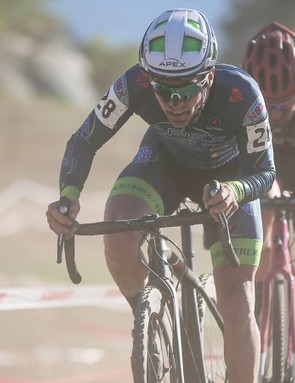 Justin Lindine races mountain and cyclocross, but he's not sure dropper seatposts are needed for cyclocross racing