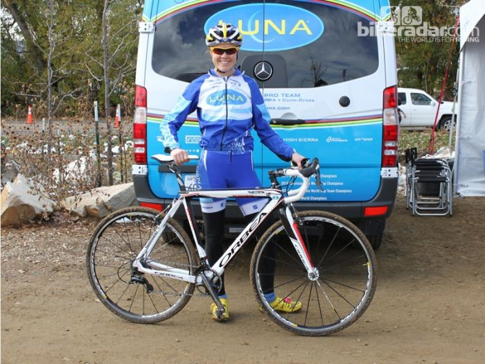 Olympic mountain biker and cyclocross racer Georgia Gould loves droppers for mountain biking, but isn't sure about their utility on a 'cross bike