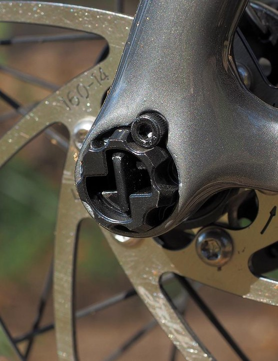 The business end of the Focus RAT system can be clocked to customize the lever position