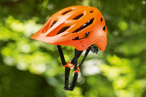 Bontrager's Rally helmet has the always appealing quality of feeling more expensive than it is