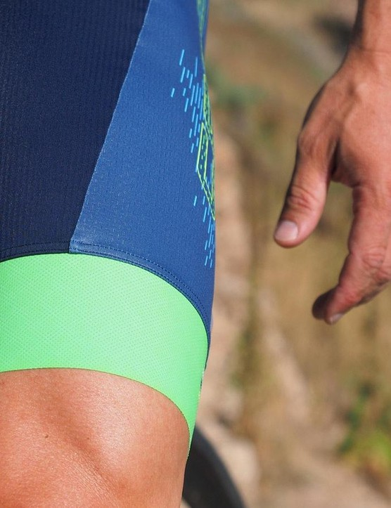 The Luminescence panels (such as on the green leg grippers) aren't visible as such during the day