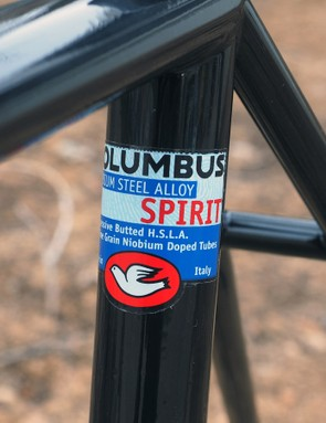 Columbus Spirit is just about as good as it gets when it comes to modern steel alloys for bicycle frames