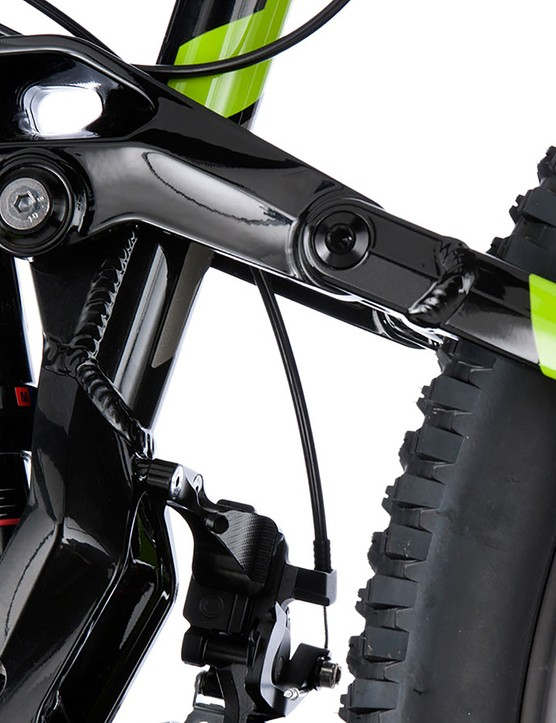 The Monarch RL-augmented suspension starts plush but retains its poise when cornering
