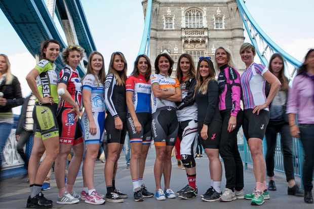 Pro cyclists from numerous disciplines joined forces to launch StrongHer