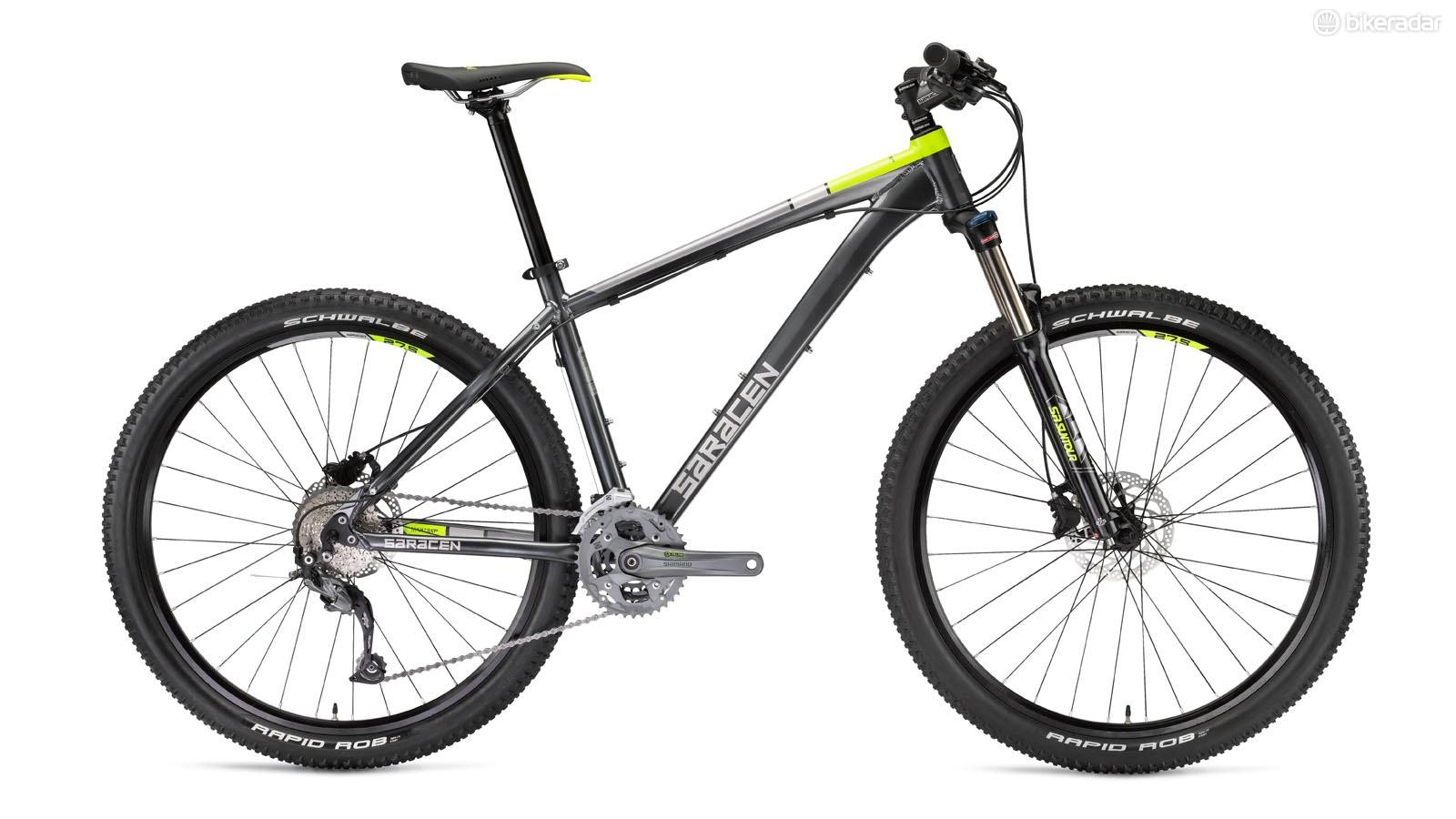 Saracen's Mantra Pro is built around an upgrade-worthy frame