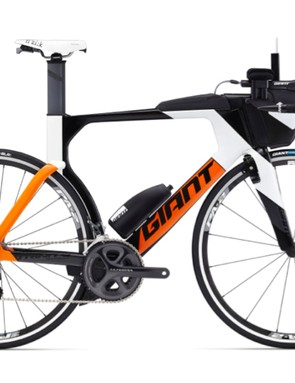 …and here's the Ultegra mechanical-equipped Trinity Advanced Pro 2