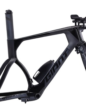 The Trinity Advanced Pro TT frameset is fully UCI-legal with modified fork and brakes