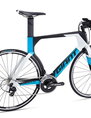 The more affordable Trinity Advanced offers the same frame but no AeroVault, and a cheaper fork