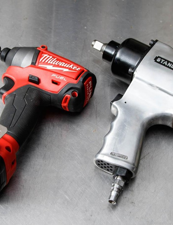 Electric impact drivers and air impact wrenches can undo a tight bond with torque and rattling, however, they can also be expensive