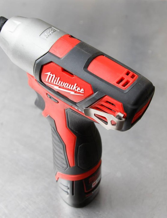 A 10 or 12v impact driver can be a handy tool for smaller bolts (such as rotors)