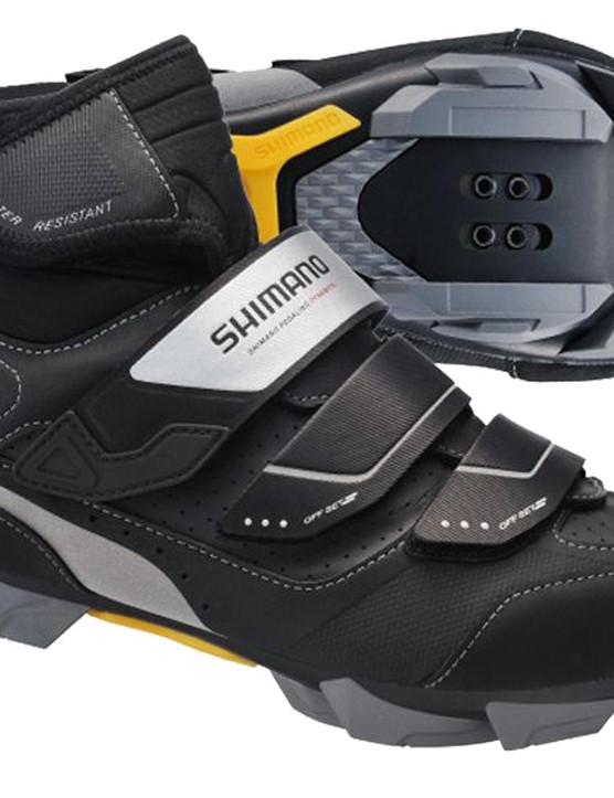 Keep out the mud, crud and water with these SPD winter shoes from Shimano