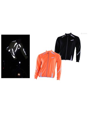 Keep off the wind, light up the night with the Altura Night Vision windproof jacket