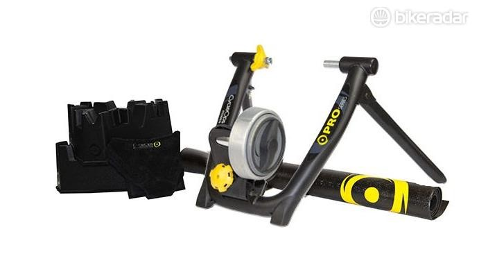 Too wet, cold or risky to cycle outside? That's when indoor trainers like the CycleOps comes in handy